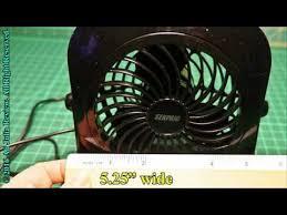 Oscillating Usb Desk Fan by Senpaic Usb Table Fan Mini Desk Personal Desktop Portable