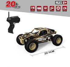 100 Rc Desert Truck Dwi 24g 124 Scale 20kmh 4wd High Speed Electric Car For