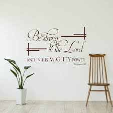 Ephesians Vintage Bible Verse Wall Decals