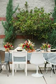 Elegant Outdoor Party Table Decorations Casual