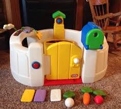 LITTLE TIKES VINTAGE Toddler Springgarden PLAY YARD~COMPLETE MAIL ...