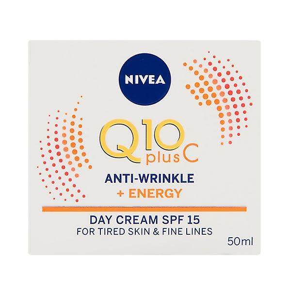 Nivea Q10 Plus C Anti-Wrinkle + Energy Day Cream - 50ml