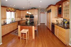 Pictures Of Kitchens With Maple Cabinets And Wood Floors Kitchen Ideas