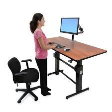 Office Max Stand Up Computer Desk by Standing Desk Workfit B Sit Stand Desk Ergotron
