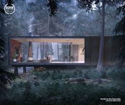 100 House In Forest In The Alex Hernandez With 5SRW