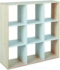 inter link fsc raumteiler regal trennwand kiefer massivholz mdf weiss und milkyskin lackiert modern 9 fächer wohnzimmer esszimmer schlafzimmer
