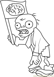 Plants Vs Zombies 2 Coloring Pages