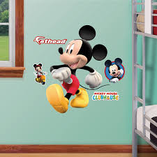 fathead baby wall decor fathead mickey mouse fathead jr graphic wall décor