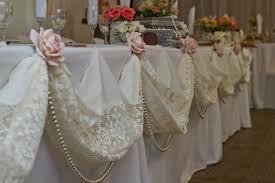 Vintage Lace Wedding Table Decorations Ideas