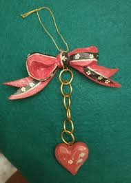 House Of Hatten 12 Days Christmas Five Golden Rings 5 1989 Ornament