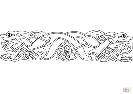 Click The Celtic Animal Ornament Coloring