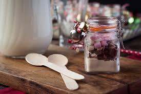 last minute geschenke aus der küche trinkschokolade im glas
