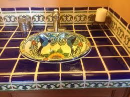 Mexican Tile Saltillo Tile Talavera Tile Mexican Tile Designs by Ideas For Using Mexican Tile In Your Kitchen Or Bath Countertop