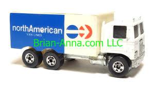 100 Toy Moving Truck Hot Wheels Hiway Hauler North American Van Blackwall Wheels