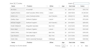 12 Amazing jQuery Tables — SitePoint