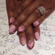 Bed Of Nails Nail Bar by Soft Pink Ombré Gel Mani Bed Of Nails Nail Bar Harlem Nyc