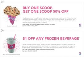 Baskin Robbins Canada Coupons: Buy One Scoop, Get One Scoop ... Baskin Robbins Free Ice Cream Coupons Chase Coupon 125 Dollars Product Name Online At Paytmcom 50 Off Paytm National Ice Cream Day Freebies And Deals Robbins Coupons Get Off Deal 3 Your Next Baskrobbins Cake Or Dig Into Freebies On Diamonds Dads Dog Food Printable Home Delivery Order Online Hirdani 2 Egift Card Expires 110617 Singleusecodes Buy One Get Tuesday 2018 Store Deals Cookies Pralines N 500ml