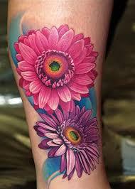 Tattoo Gerbera Daisy … TATTOO Pinterest