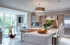 Belfast Sink Ideas Kitchen Transitional With Curved Island White Worktop