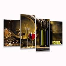 Grape Wall Decor For Kitchen by Wine Grape Wall Decor Kitchen Living Room Painting Pictures Print