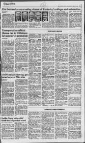Ky Personnel Cabinet Grievance by Courier Journal From Louisville Kentucky On October 14 1989