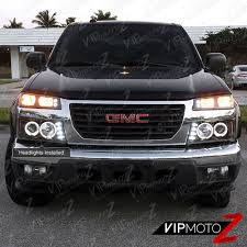 2004-2012 Chevy Colorado GMC Canyon Black Halo LED Projector ... Devils Eye Projection Hid Headlight Revo Cycle Bmw 318 Ci Angel Eyes Halo Lights M Sports Alloys Leather Sony Mp3 Halo Lights Installed Mustang Oracle Lighting Color Fog Lights Lumen Harley Davidson Flstf Fat Boy 1997 7 Round Orange 7004053 Factory Style With Red Plasma On A Gmc Truck Youtube Custom Led For Cars From Oracle 2641032 Ccfl Blue Kit Headlights Multi Color And Strip Lighting 2012 Jeep Wrangler Redline Lumtronix Hh030led Wrangler Jk Headlight With