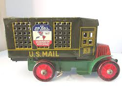 Vintage MARX TOYS Tin Windup Air Mail US Mail Delivery Truck ... Antique Buddy L Junior Trucks For Sale Cheap Mail Truck Toy Find Deals On Line At Alibacom Car Wash Kids Youtube Structo Pressed Steel No 5853 Us Old Toys The Early Efsi Holland 1 87 Camp Lee Petersburg Truck Classic Wooden Community Vehicle Set Skeeters Toybox 1960s Little People Sending Letters Shop Die Cast Becky Me