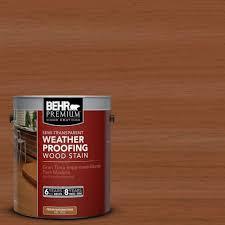 Behr Premium Deck Stain Solid by Behr Premium 1 Gal St 122 Redwood Naturaltone Semi Transparent