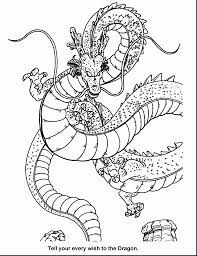 Fantastic Dragon Ball Coloring Pages Printable With Z And
