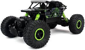 ODDEVEN Remote Controlled Rock Through RC Monster Truck, Green ...
