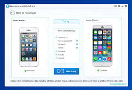 Mobile Phone Transfer Transfer Data Between iPhone Android and