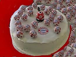 fc bayern fan artikel torte