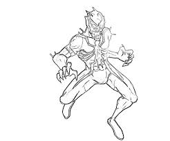 Anti Venom Spiderman Coloring Pages