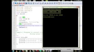 Java Math Ceil Int by Convert String To Int Atoi C Program Youtube