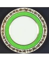 Wedgwood Whitehall Powder Green Band Salad Plate Fine China Dinnerware