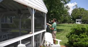 Diy Roll Up Patio Shades by Porch Enclosure Systems Clear Vinyl Panels Roll Up U0026 Down