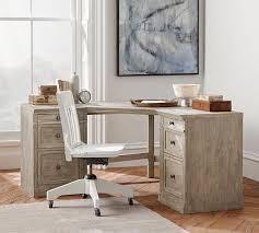 Pottery Barn Bedford Office Desk by Livingston Corner Desk Pottery Barn For The Home Pinterest
