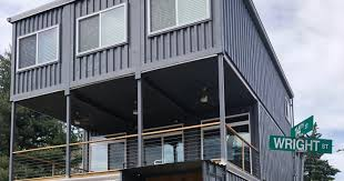 100 Building Container Home See Inside St Louis First Container Home On This