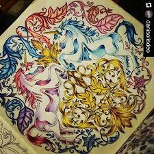 Coloring Books Adult Johanna Basford Prismacolor Pegasus Pictures Water Colors Galleries Color Schemes