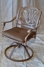 100 Final Sale Rocking Chair Cushions Elizabeth Outdoor Patio 4 Swivel Rocker Dining S Mocha Color