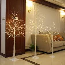 Image Is Loading LED Warm Light Xmas Birch Tree Branches Christmas