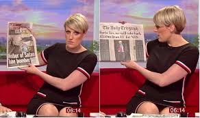 BBC Anchor Steph McGovern Accidentally Flashes Underwear In Risque Dress On Live Show