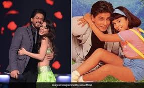 a then and now kinda birthday wish from shah rukh khan s