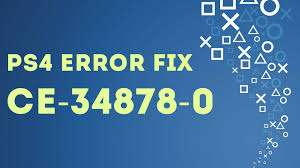 ce siege air ps4 easy fix error ce 34878 0 an error occurred in the following