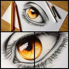 Drawn 3d Art Eye 6