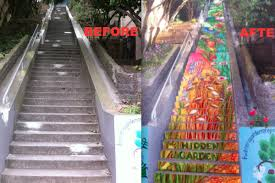 16th Ave Tiled Steps Project by More Tiled Steps In Store For Golden Gate Heights Curbed Sf