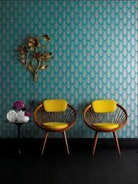 leroy merlin papier peint chambre le papier peint géométrique en 50 photos avec idéеs couleur