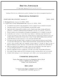 Social Worker Resume Samples S Work Curriculum