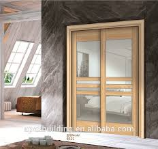 innen schiebe holz glas tür design für wohnzimmer buy innen tür holz holz schiebetür holz glastür design product on alibaba