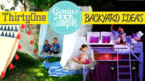 31 Genius Yet Simple Backyard Ideas - YouTube Plan A Backyard Party Hgtv Rustic Wedding Arch Rental Gazebo Blitz Host Decorations 25 Unique Pool Decorations Ideas On Pinterest Kids Parties Summer Backyard 66 Best Home Love Patio Ideas Images Kids Yard Games Outdoor Design Terrific Landscaping With Decor Birthday